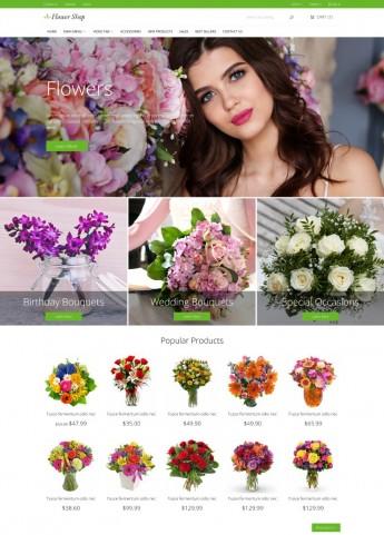 Flower Shop PrestaShop theme