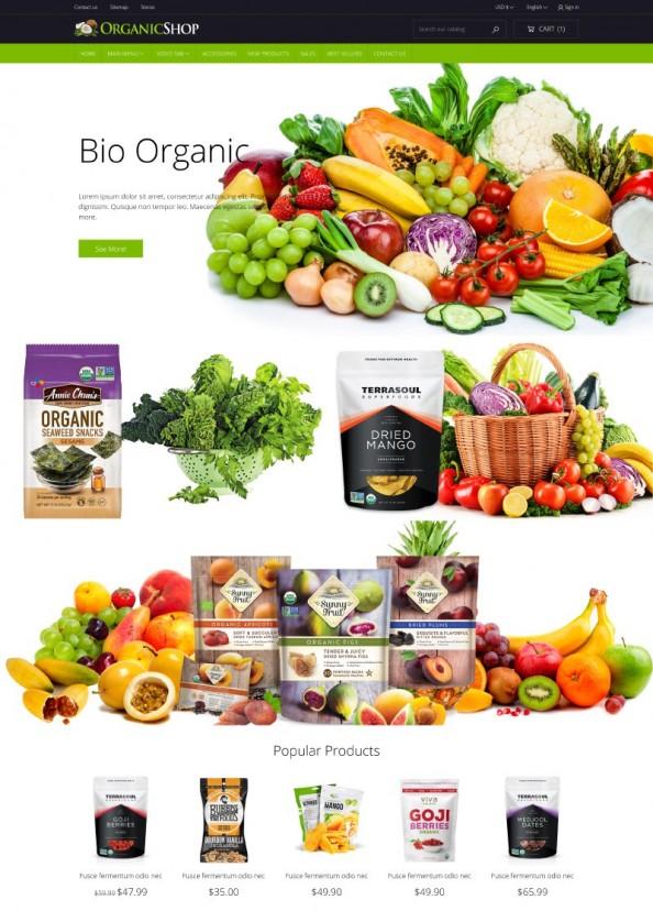 OrganicShop PrestaShop Theme