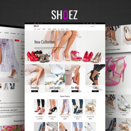 Shoez PrestaShop theme