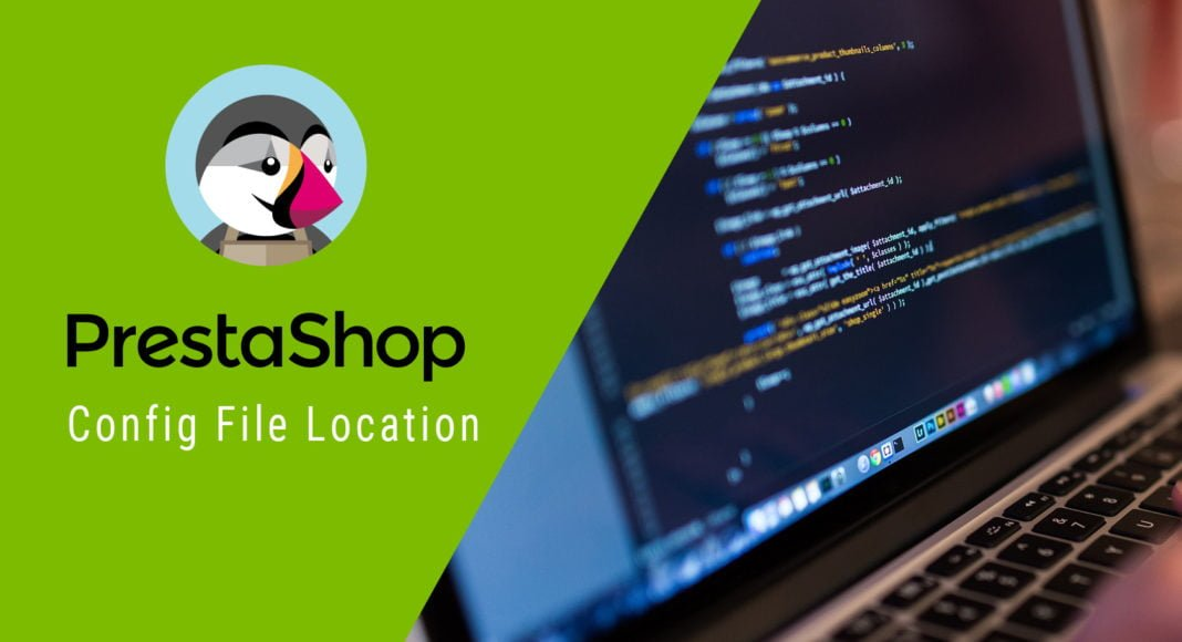 PrestaShop config file location cover