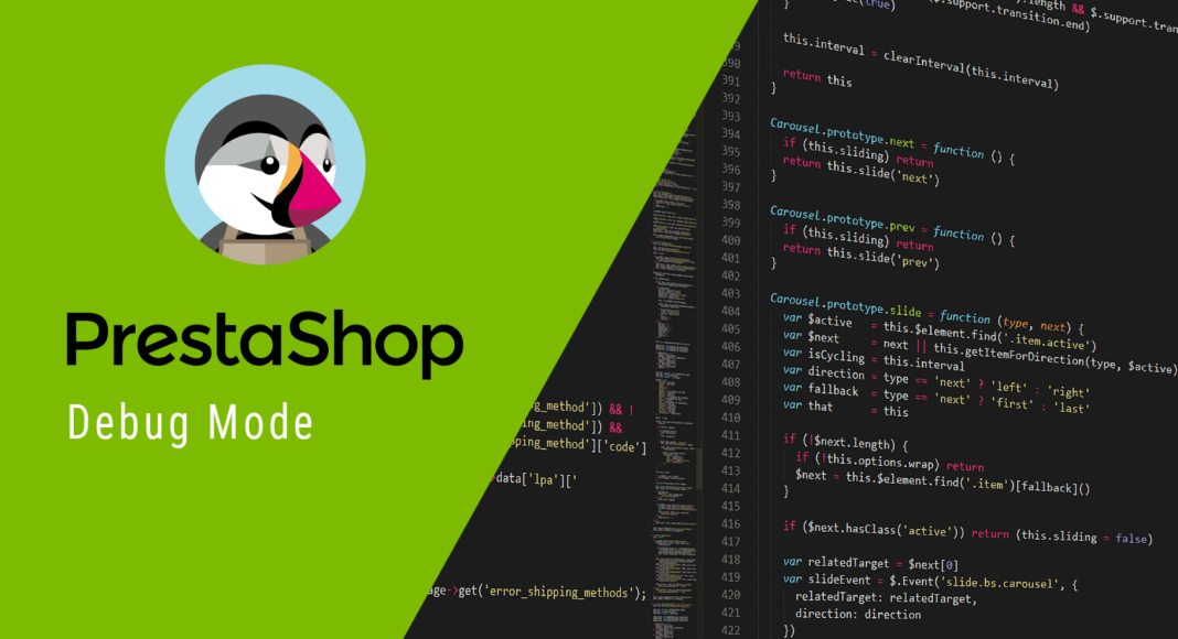 PrestaShop debug mode cover image