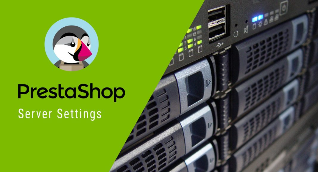 prestashop server settings cover
