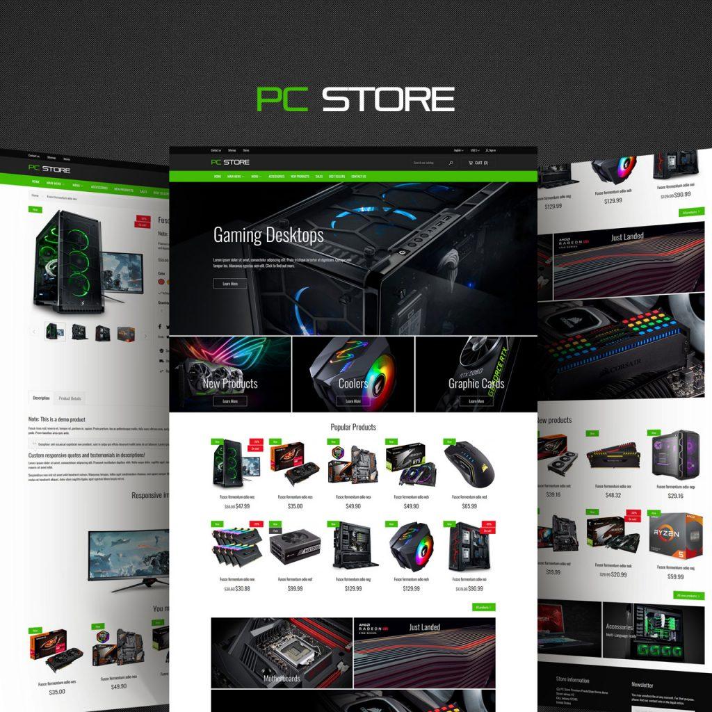 PC Store PrestaShop Theme