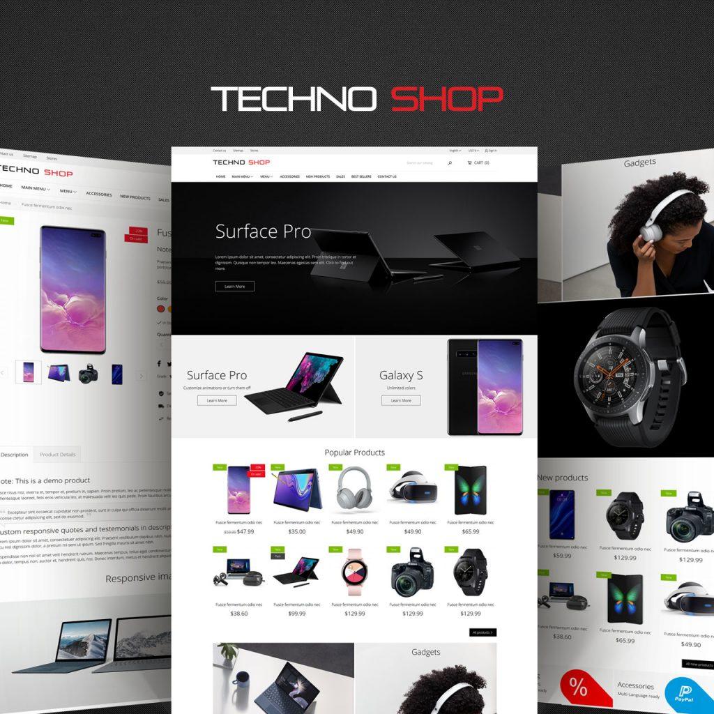 Techno Shop PrestaShop theme