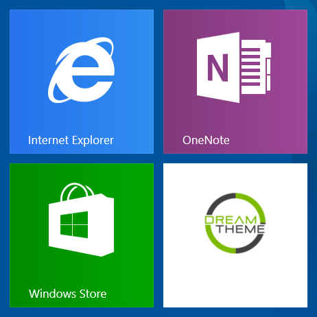 PrestaShop Windows 8 and 10 tile icon
